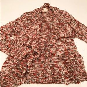 Skies are Blue red knitted cardigan